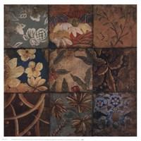 Floral Mosaic IV Fine-Art Print