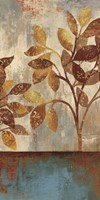 Bronze Leaves I Fine-Art Print