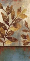 Bronze Leaves II Fine-Art Print