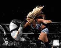 Kelly Kelly 2010 Spotlight Action Fine-Art Print