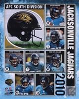 2010 Jacksonville Jaguars Team Composite Fine-Art Print