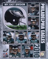 2010 Philadelphia Eagles Composite Fine-Art Print