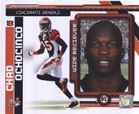 Chad Ochocinco 2010 Studio Plus Fine-Art Print