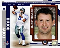 Tony Romo 2010 Studio Plus Fine-Art Print