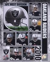 2010 Oakland Raiders Team Composite Fine-Art Print