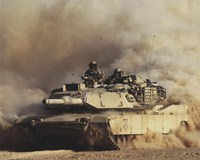 M1A1 Abrams United States Army Fine-Art Print