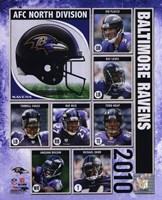 2010 Baltimore Ravens Team Composite Fine-Art Print