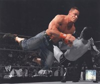 John Cena 2010 Spotlight Action Fine-Art Print