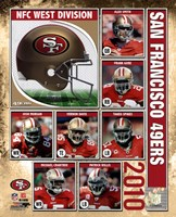 2010 San Francisco 49ers Team Composite Fine-Art Print