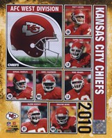 2010 Kansas City Chiefs Team Composite Fine-Art Print