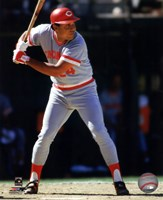 Tony Perez 1985 Action Fine-Art Print