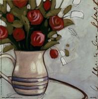 White Pitcher Bouquet Fine-Art Print