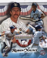 Robin Yount Hall of Fame Limited Edition Fine-Art Print
