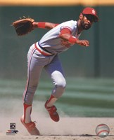 Ozzie Smith 1985 Action Fine-Art Print