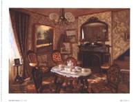 Red Music Room Fine-Art Print