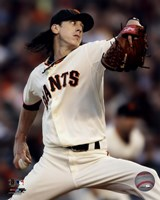 Tim Lincecum 2010 Action Fine-Art Print