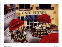 Cafe Elysee Fine-Art Print