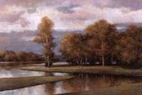 Winding River II Fine-Art Print