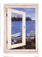 Bay Window Vista I Fine-Art Print