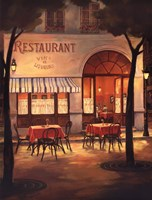 Evening Restaurant Fine-Art Print
