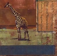 Serengeti Giraffe Fine-Art Print