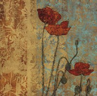 Poppy Pattern I Fine-Art Print
