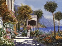 Passaegiata al Lago Fine-Art Print