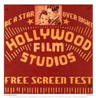 Hollywood Film Studios Fine-Art Print