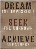 Dream The Impossible Fine-Art Print