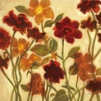 Happy Home Flowers I Fine-Art Print