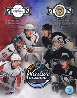 2011 NHL Winter Classic Matchup Composite Fine-Art Print