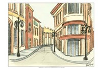 Sketches of Downtown IV Fine-Art Print
