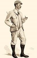 Vanity Fair Golfers I Fine-Art Print
