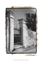 Old Bermuda Gate II Fine-Art Print