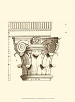 Small Corinthian Detail I (U) Fine-Art Print