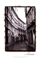 The Streets of Prague I Fine-Art Print