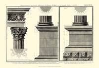 Small Cornice Tempio di Vesta Fine-Art Print