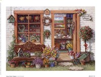 Fancy Flower Shoppe Fine-Art Print