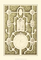 Small Garden Maze I (P) Fine-Art Print