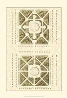 Small Garden Maze IV (P) Fine-Art Print