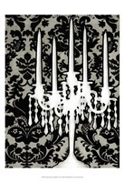 Small Patterned Candelabra I (P) Fine-Art Print