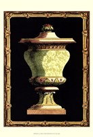 Jade Urn on Black I Fine-Art Print