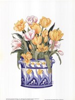 Tub Of Tulips Fine-Art Print