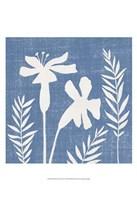 Small Blue Linen II (P) Fine-Art Print