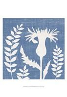 Small Blue Linen III (P) Fine-Art Print