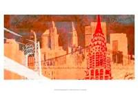 Small Modern Metropolis I Fine-Art Print
