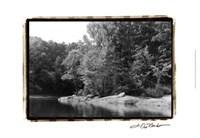 Serene Lake III Fine-Art Print