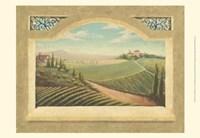 Vineyard Window I Fine-Art Print