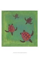 Wave Riders I Fine-Art Print