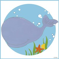 Wally the Whale Fine-Art Print